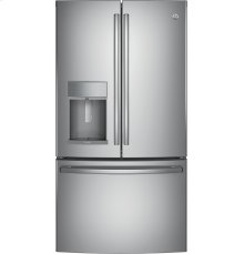 GE Profile Series ENERGY STAR® 22.2 Cu. Ft. COUNTER DEPTH  French-Door Refrigerator with Hands-Free AutoFill-Get That Built-In Look For Less!