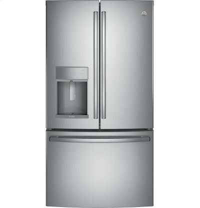 GE Profile™ Series ENERGY STAR® 22.2 Cu. Ft. Counter-Depth French-Door Refrigerator with Hands-Free AutoFill Product Image