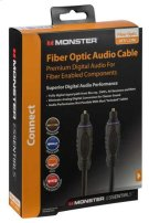 Monster Essentials Fiber Optic Audio Cable - 4 feet / Fiber Optic Cable Product Image