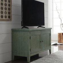48 Inch TV Console - Green
