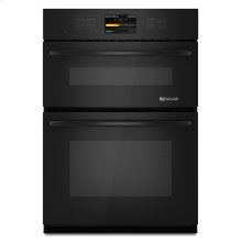 Black Jenn-Air® Combination Oven with V2™ Vertical Dual-Fan Convection System, 30""