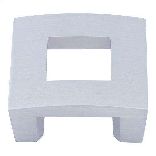 Centinel Square Knob 1 1/4 Inch (c-c) - Brushed Nickel