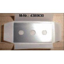 Razor blades for glass scraper