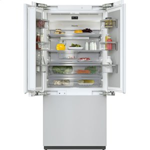 MieleKF 2981 Vi - MasterCool FrenchDoor with high-quality features and maximum storage space for exacting demands.