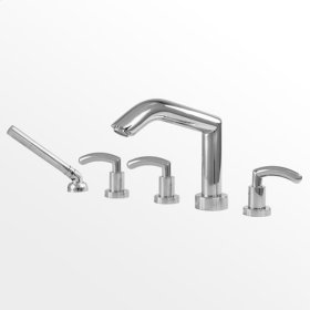 1700 Series Roman Tub Set with Diverter Handshower and Prana Handle (available as trim only P/N: 1.179293T)