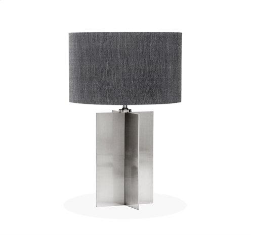 Tristan Lamp - Brushed Nickel