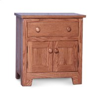 Shaker Nightstand with Doors Product Image