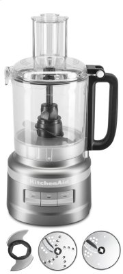 9 Cup Food Processor Plus - Contour Silver Product Image