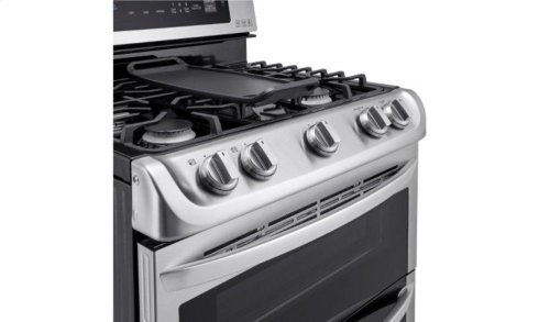 6.9 cu. ft. Gas Double Oven Range with ProBake Convection®, EasyClean® and Gliding Rack