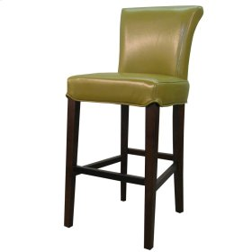 Bentley Leather Counter Stool, Wasabi