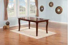 Venetian Dining Table 36x60 in Walnut