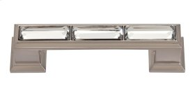 Legacy Crystal Pull 3 Inch (c-c) - Brushed Nickel