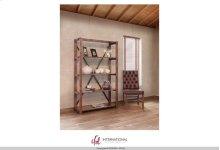 Bookcase w/5 fixed wood shelves