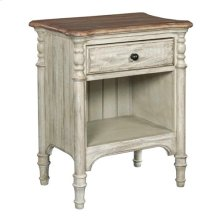 Weatherford - Cornsilk Open Nightstand