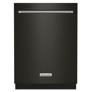KitchenAid39 dBA Dishwasher in PrintShield Finish with Third Level Utensil Rack - Black Stainless Steel with PrintShield™ Finish