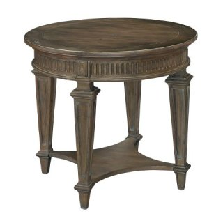 Turtle Creek Round End Table
