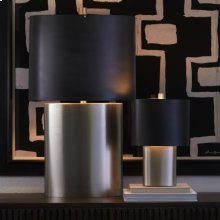 Nordic Table Lamp-Antique Nickel-Lg