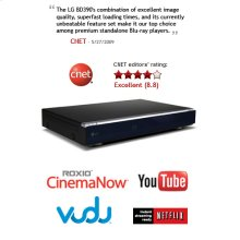 Network Blu-ray Disc Player with wireless connectivity