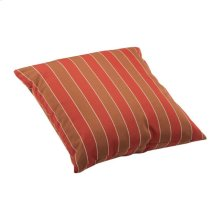 Joey Large Outdoor Pillow Brown And Clay Wide Stripe