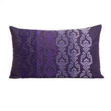 Danica Embroidered Fade Rectangle Pillow