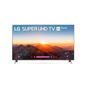 "LG ElectronicsSK8000AUB 4K HDR Smart LED SUPER UHD TV w/ AI ThinQ® - 65"" Class (64.5"" Diag)"