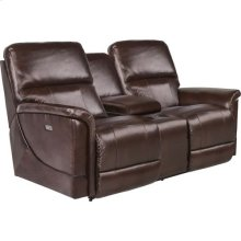 Oscar PowerRecline La-Z-Time® Full Reclining Loveseat w/ Console