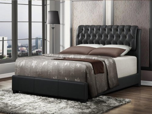 Tufted King Size Bed