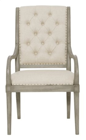 Marquesa Arm Chair in Gray Cashmere (359)