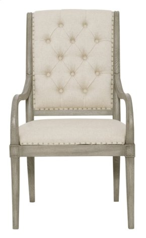Marquesa Arm Chair in Gray Cashmere (359)