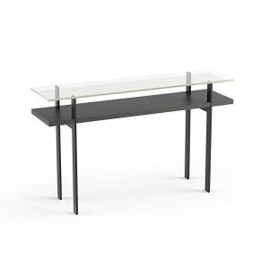 Bdi FurnitureConsole Table 1153 in Charcoal Stained Ash