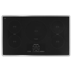 Kitchenaid36-Inch 5-Element Induction Cooktop, Architect(R) Series II - Stainless Steel