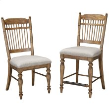 Lake House Spindle Back Side Chair