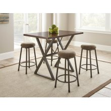 "Omaha Counter Bar Stool, 14""X14""X26"""