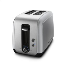 KitchenAid® 2 Slice, Manual High-Lift Lever Toaster - Contour Silver