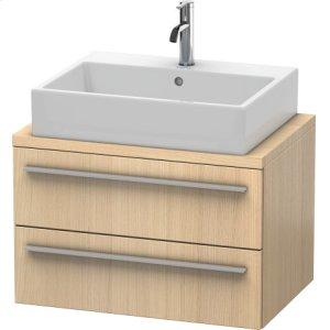 X-large Vanity Unit For Console Compact, Mediterranean Oak (real Wood Veneer)