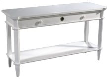 Cotton White Console Table
