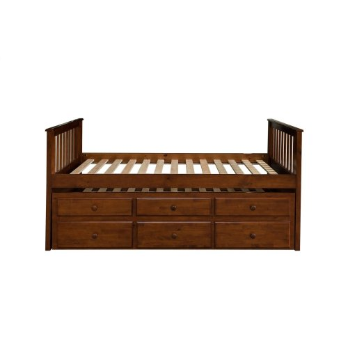 571pe1 In By Homelegance In Orange Ca Twintwin Trundle Bed With
