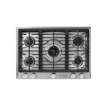 "Dacor30"" Professional Gas Cooktop, Natural Gas/High Altitude"