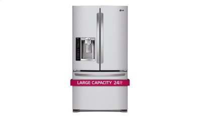 Ultra-Large Capacity 3 Door French Door Refrigerator with Smart Cooling Product Image