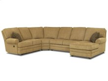 Living Room Belleview Sectional 21303-FAB-SECT