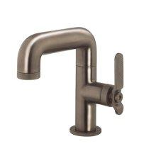 UNION Single-hole Basin Faucet with Lever Handle - Brushed Black Chrome