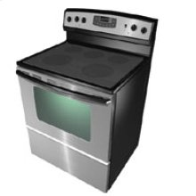 Self-Cleaning Electric Range