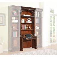 Corsica 2 piece Library Desk and Hutch Product Image