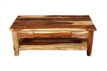 Tahoe Coffee Table with Drawer, PDU-15