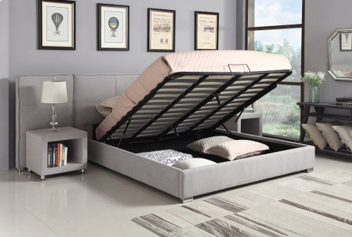 Emerald Home Cazelle Wall Bed Dove Gray B133-09-03-k