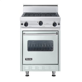 "Sea Glass 24"" Char-Grill Companion Range - VGIC (24"" wide range with char-grill, single oven)"