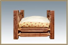 Homestead Small Pet Bed - Stained and Lacquered