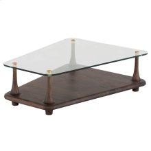 Mesa Coffee Table  Clear