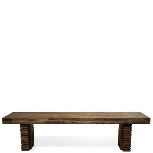 Modern Gatherings - Dining Bench Top - Brushed Acacia Finish