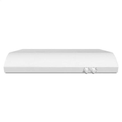 """36"""" Range Hood with the FIT System - white"""
